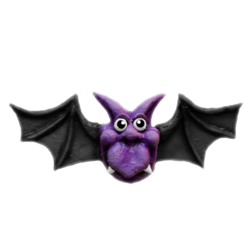 Bat Magnet in Purple